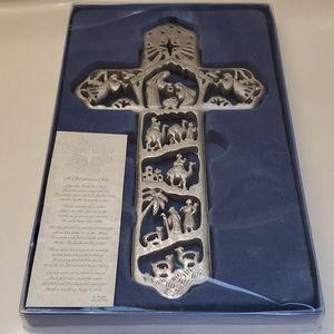 Christmas Nativity Cross